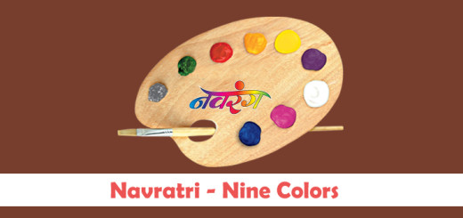 Navratri - Nine Colors of the night! 2015